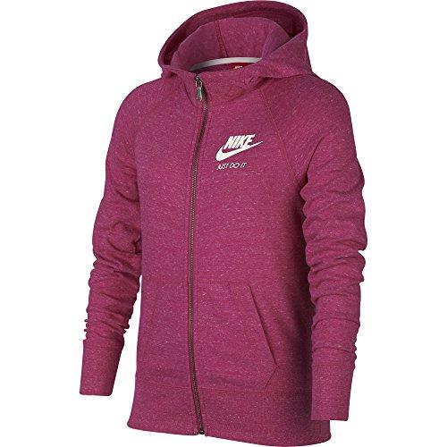 Nike G Nsw VNTG FZ Jacke, Mädchen rosa (active pink/active pink/sail)