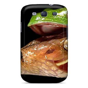 Shock-dirt Proof Animals Attack Case Cover For Galaxy S3