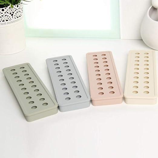 Alvar Bandejas de silicona para cubitos de hielo, 20 moldes de ...