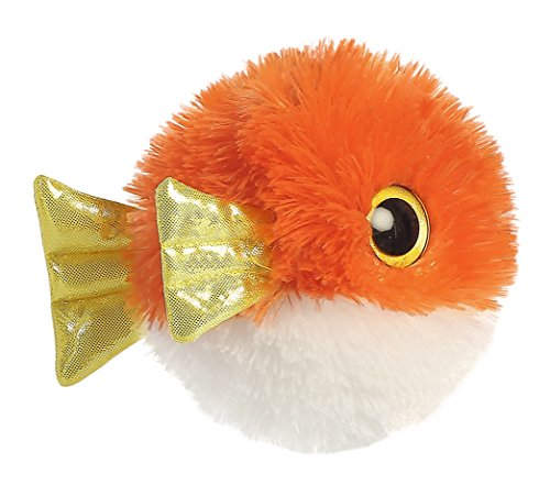 Aurora World Plush Animal Toy, Spinee Fish, 5