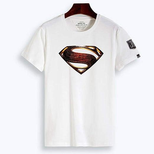 Camiseta De Verano De La Liga De La Justicia para Hombre Camiseta De Manga Corta para Hombre De Flash Man Wonder Woman White C-XXL: Amazon.es: Hogar