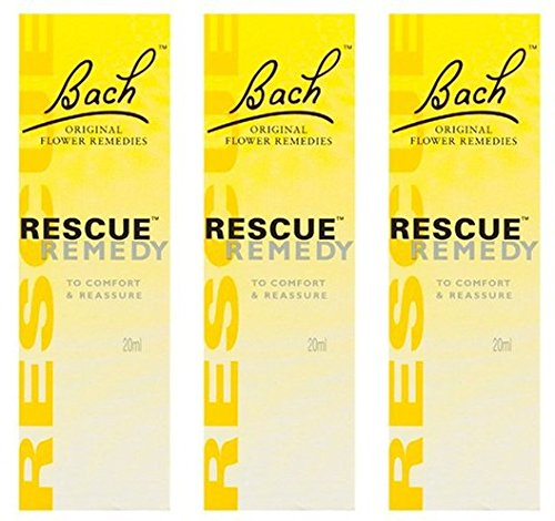 Rescue Remedy Herbal - (3 PACK) - Rescue - Remedy Dropper | 10ml | 3 PACK BUNDLE