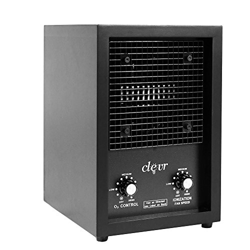 Clevr Commercial and Home Ozone Generator Industrial O3 Air Purifier w/ 2 Plates