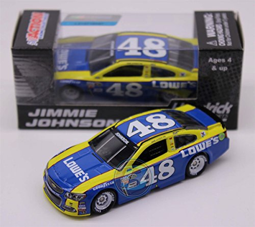 NASCAR Jimmie Johnson #48 Lowe's Darlington 1/64 Kids Hardtop Car 2016