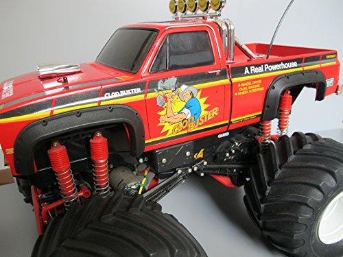 - Rctruckfactory Heavy Duty Rubber Fender Set for Toy Tamiya RC 1/10 Truck