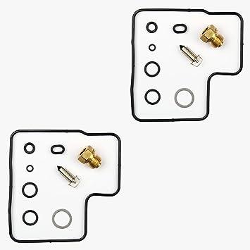 2x Kit Reparación Carburador Aguja del flotador Getor CAB-H10: Amazon.es: Coche y moto