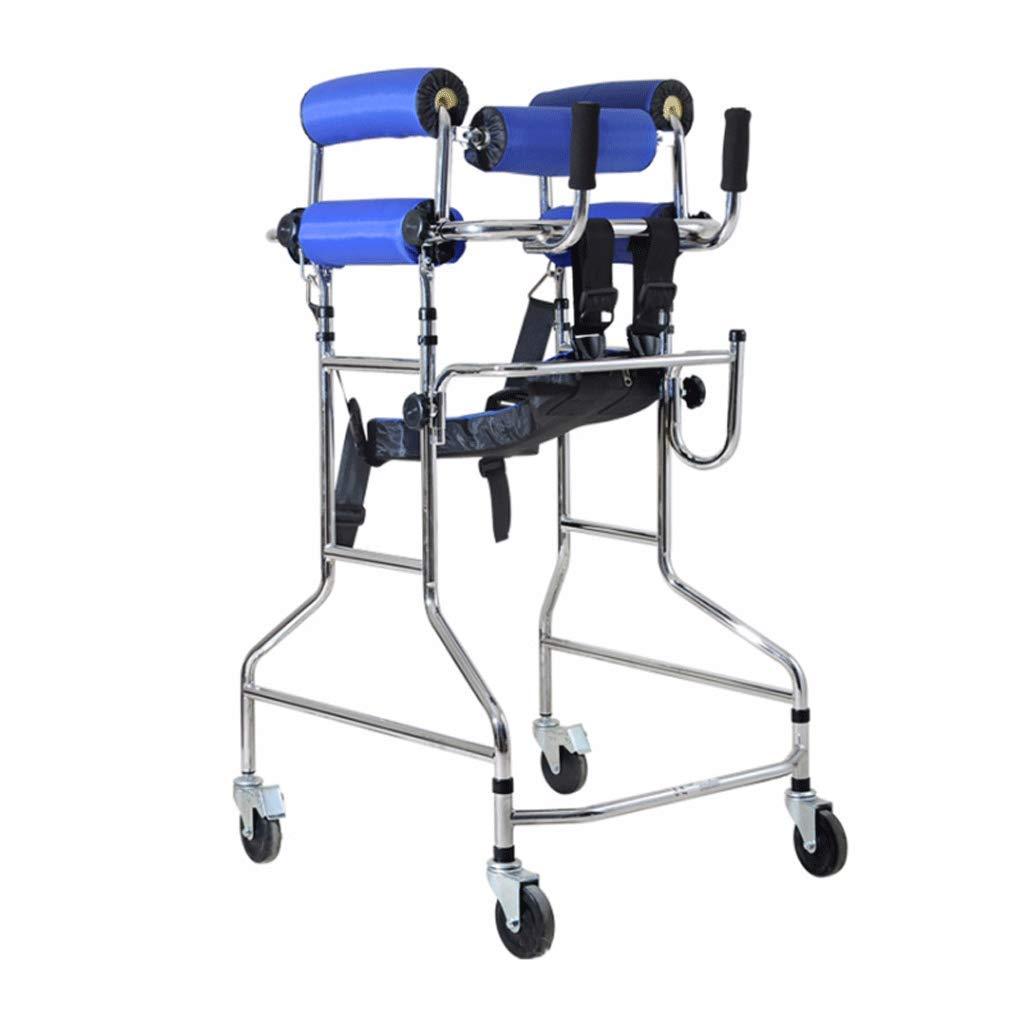 ウォーカー、下肢トレーナースタンドフレームウォーキングフレーム高さ調節可能