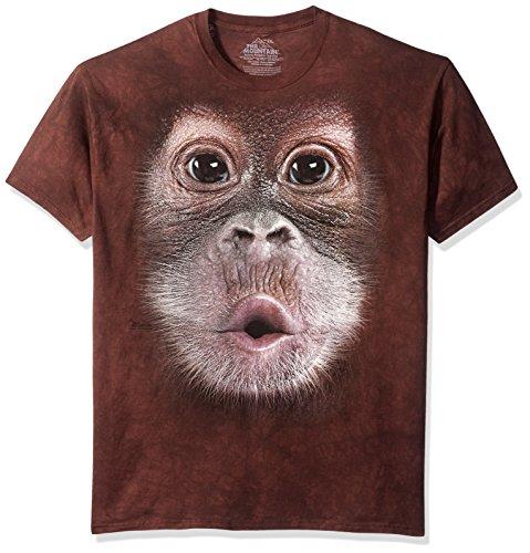 Mountain Unisex Adult Orangutan Sleeve T Shirt product image