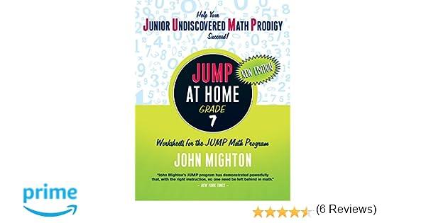 Workbook 3 grade worksheets : Amazon.com: JUMP at Home Grade 7: Worksheets for the JUMP Math ...