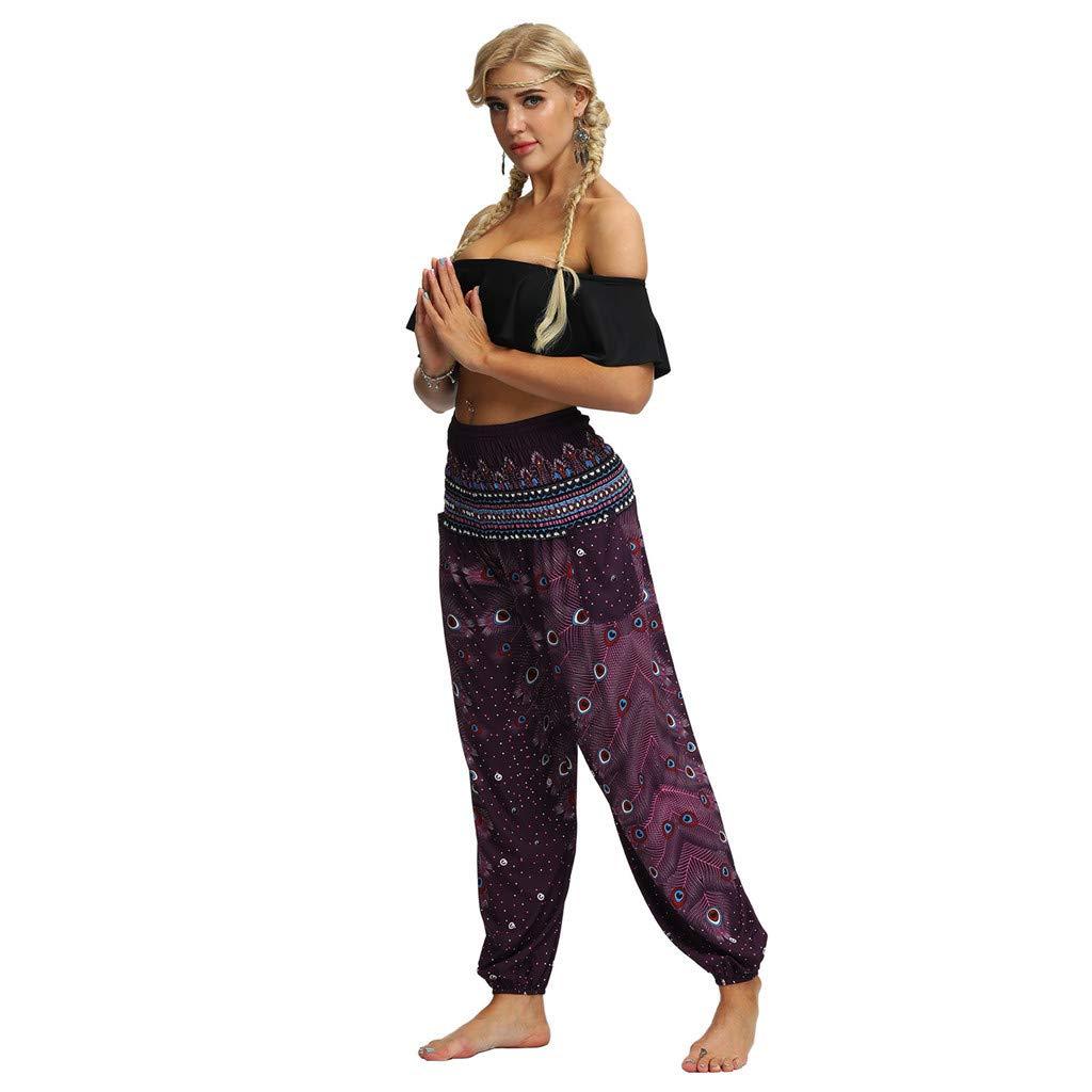 Allence Damen Haremshose Pumphose Sommerhose gro/ßes Gr/ö/ße 34//36 bis Gr/ö/ße 48//50 verf/ügbar Leichte Yoga Haremshose