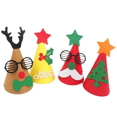 Outflower Adornos De Navidad Tuercas De Regalo De Navidad Tela - Adornos-de-navidad-con-tela