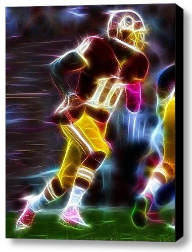 (Washington Redskins Rg3 Robert Griffin III Magical Framed 9 X 11 Art Print Limited Edition)
