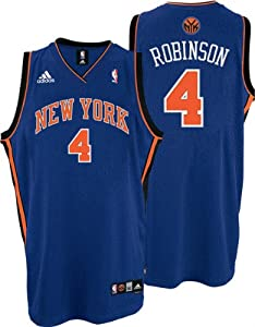 74146b0a709 ... Nate Robinson Jersey adidas Blue Swingman 4 New York Knicks Jersey  Celtics 4 Nate Robinson Embroidered Green Black Number Final Patch NBA ...