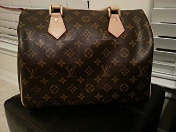 160c554dd0f1 Image Unavailable. Image not available for. Color  Authentic Louis Vuitton  M41526 Speedy 30 ...
