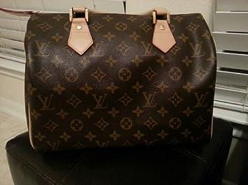 cc55ac5e74d1 Image Unavailable. Image not available for. Color  Authentic Louis Vuitton  M41526 Speedy 30 Monogram Women s Handbag