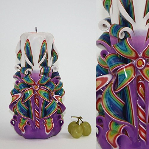 Carved Candles Amazing Birthday Partylite - Light Peace Votive - Velas Decorativas - EveCandles