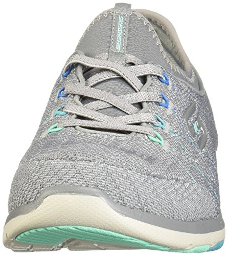 m Donne 9 Talk Skechers Stati B Active Uniti witty Su Slip Grey Galaxies Cxfzwq