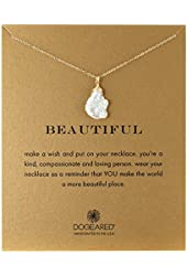 "Dogeared Beautiful Keshi Pearl Chain Necklace, 18"""