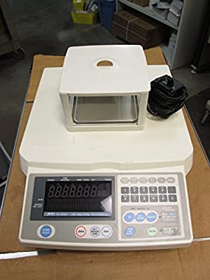 AND FC-500Si Digital Counting Scale 1lb x 0.00005lb Capacity 12VDC w/ Shield