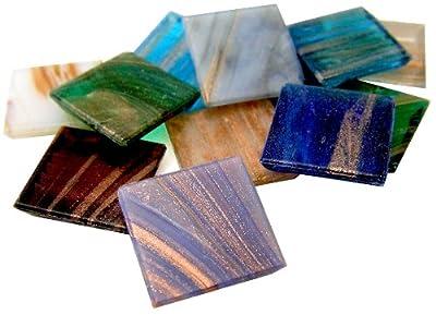 Mosaic Mercantile 3/4-Inch Metallic Assorted Tile
