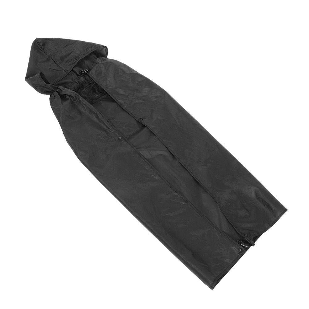Mochila cubierta para portabeb/és Impermeable a prueba de viento Mochila cubierta para portabeb/és Sling impermeable a prueba de lluvia Capa negra
