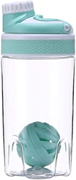 Fitness shaker shaker botella proteína en polvo botella de ...
