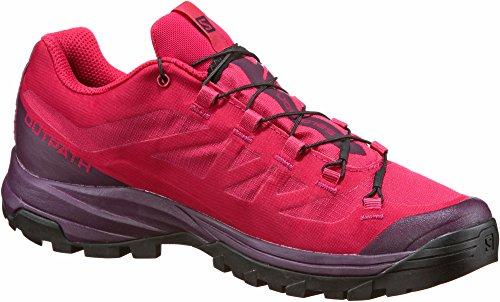Salomon Outpath Womens Zapatilla de Trekking - SS18 Virtual Pink/Potent Purple/Black