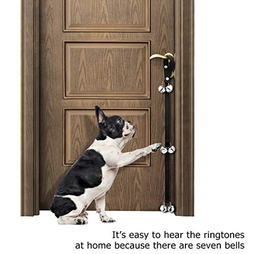 Manfiter Dog Doorbell For Potty Training With Collapsible