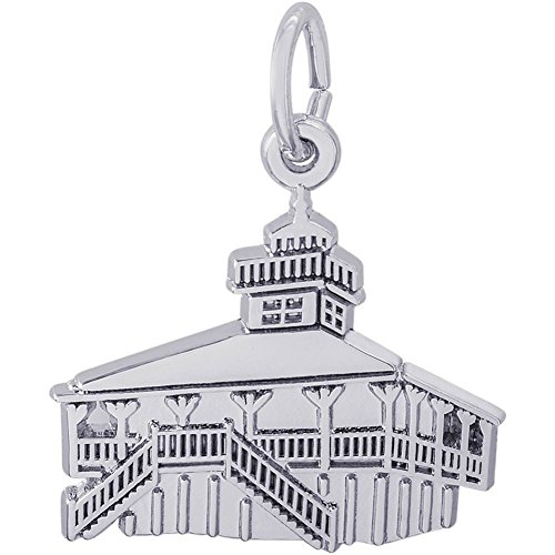 Florida Lighthouse Charm - STERLING SILVER OLD PORT BOCA GRANDE, FL FLORIDA LIGHTHOUSE CHARM OR PENDANT