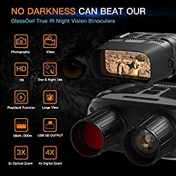 """Night Vision Goggles, Night Vision Binoculars for Hunting with 2.31"""" TFT LCD, Digital Night Vision Scope can take HD Photo & 960p Video from 984 ft Viewing Range"""