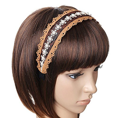 Wide-brimmed Head Band for Women Red - 7