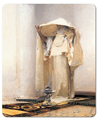 - John Singer Sargent Mouse Pad - Smoke of Ambergris, 1880 (9 x 7 inches)