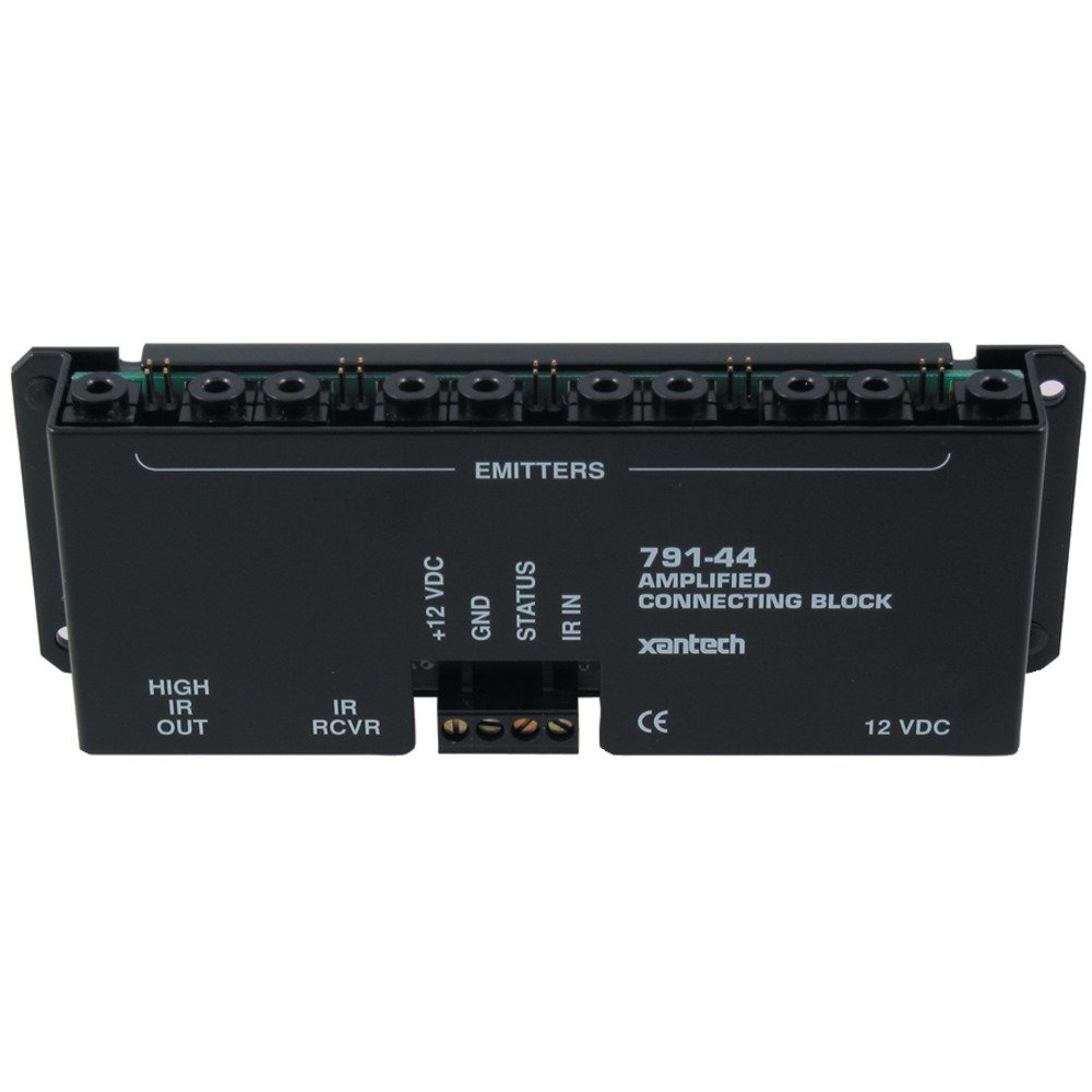 Xantech 791-44 Amplified 10 Source Amplified Connecting Block