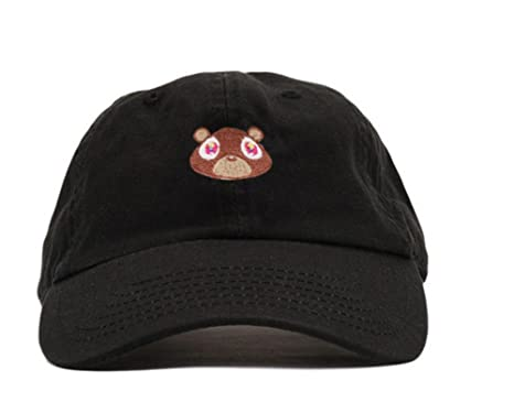 Amazon.com  Bear Hat Dad Hat Strap Back Costume Head Men Women New ... 1672ee2bfaa