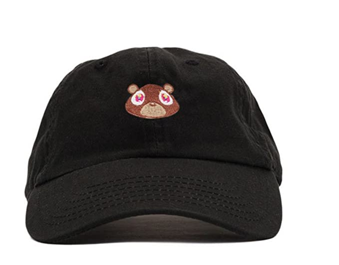 09289fed18a75 Amazon.com  Bear Hat Dad Hat Strap Back Costume Head Men Women New ...