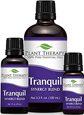 Plant Therapy Tranquil Synergy Essential Oil 100% Pure, Undiluted, Therapeutic Grade