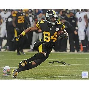 Antonio Brown Steelers Signed/Autographed 11x14 Photo JSA 138315