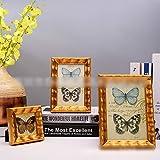 LNLW Photo Display Wooden Photo Frame Vintage Photo Frame Decorations for Surviving Room