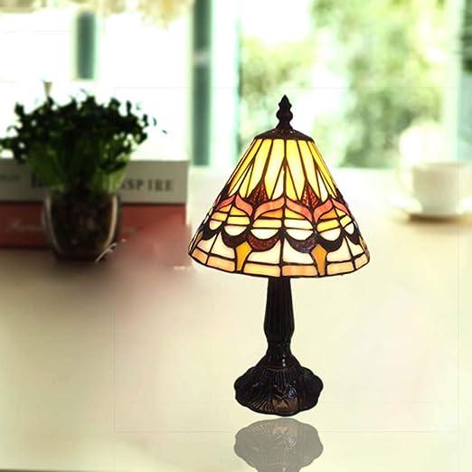 XNCH Lámpara de Mesa Estilo Tiffany Lámpara de Escritorio de ...