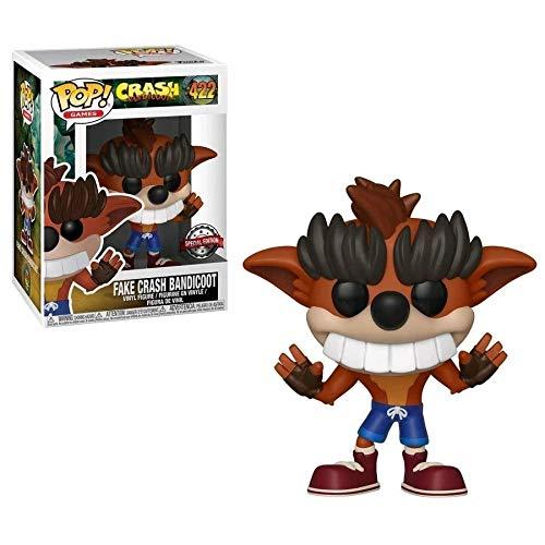 Funko Pop! Vinyl Games: Crash Bandicoot Trash Bandicoot(Exc), Action Figure - 34097