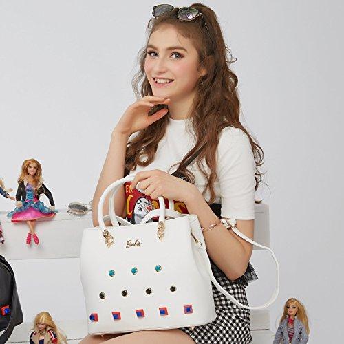 para Barbie Bolso baguette 16 bandolera mujer casual elegante y estilo de bolso chicas BrwvB