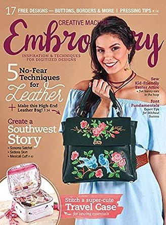 Creative Machine Embroidery Amazon Magazines