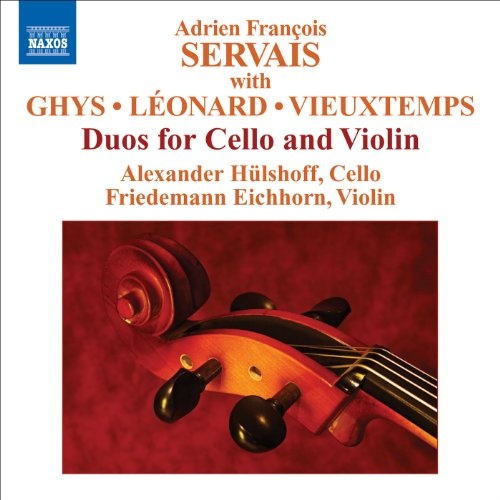 Servais, A.F. / Ghys, J. / Leonard, H. / Vieuxtemps, H.: Duos for Cello and ()
