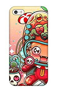 Awesome Artistic Flip Case With Fashion Design For Iphone 5/5s