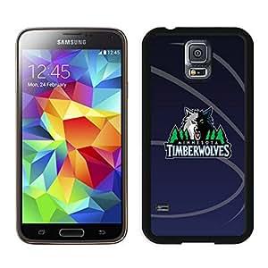 New Custom Design Cover Case For Samsung Galaxy S5 I9600 G900a G900v G900p G900t G900w Minnesota Timberwolves 11 Black Phone Case