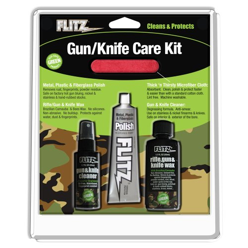 - Flitz Gun and Knife Cleaning Care Kit