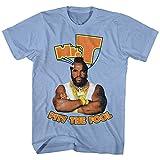 Mr. T Pity The Fool T-shirt, Light Blue, Medium