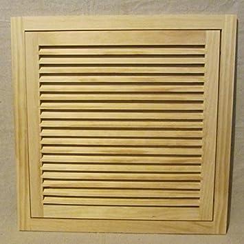 20x20 Wood Return Air Filter Grille - - Amazon.com