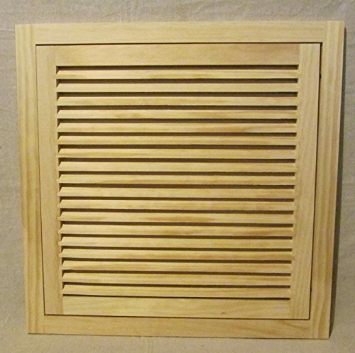 Wood Return Air Grilles (20x20 Wood Return Air Filter Grille)