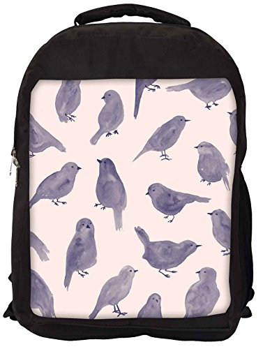 Snoogg Pigeon Farbe Laptop Rucksack Gelegenheitsschulrucksack 0hzWnmUyfP